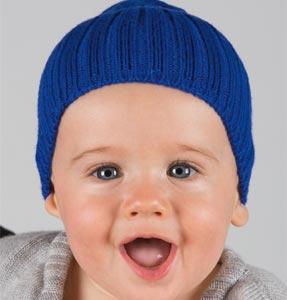 Bonnet laine bébé