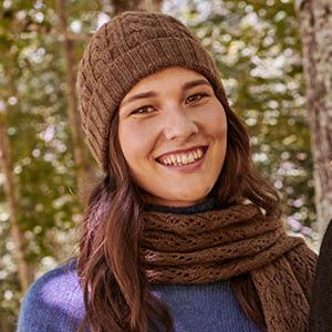 Bonnet laine duvet de bébé yack
