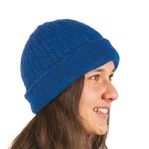 Bonnet laine à revers