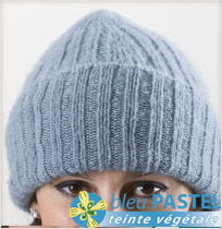 Bonnet laine mohair et soie Pastel