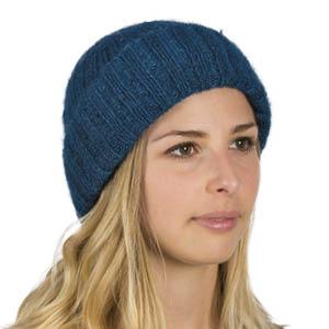 Bonnet laine Mohair et Soie