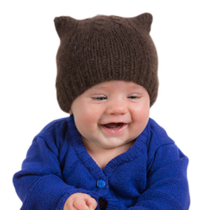 Bonnet laine duvet de bébé yack pour bébé