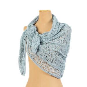 Carré foulard en lin