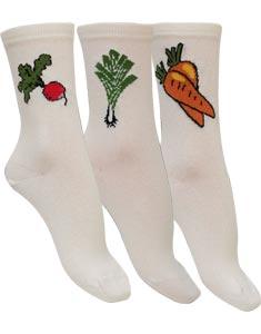 Chaussettes coton de la Ferme Légumes Bonnes affaires