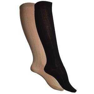 Chaussettes coton fil d'écosse bio hautes