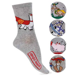 Chaussettes coton Supers Animaux