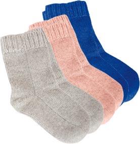 Chaussettes laine bébé