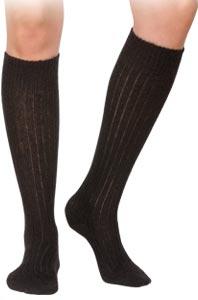 Chaussettes sans couture mohair hautes