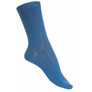 Chaussettes sans couture fil d'écosse bio couleurs classiques