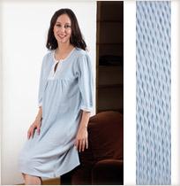 Chemise de nuit laine
