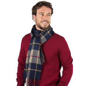 Grande écharpe laine alpaga Homme