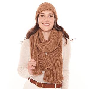 Echarpe laine de chameau