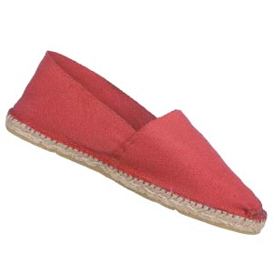 Espadrilles traditionnelles Corail - Missègle: vente d'espadrilles Made in France