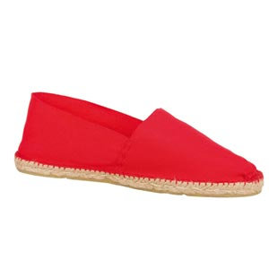 Espadrilles traditionnelles Rouge - Missègle: vente d'espadrilles Made in France