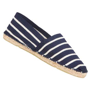 Espadrilles traditionnelles Marine/Ecru - Missègle: vente d'espadrilles Made in France