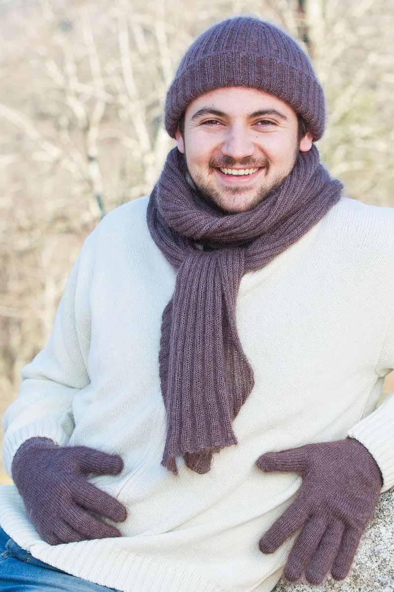 Gants laine grandes tailles