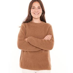 Grand pull laine de chameau