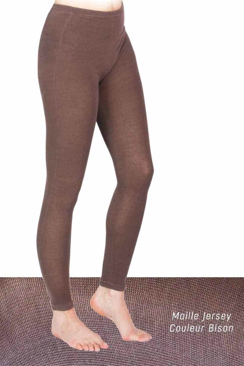 Legging laine Bison