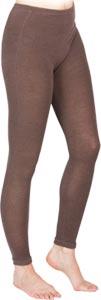 Legging laine Acier