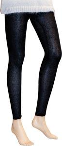 Legging laine Noir