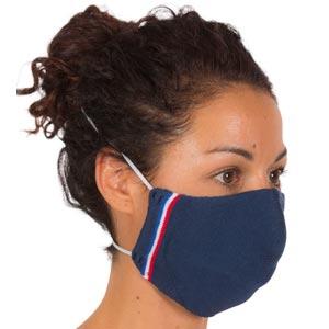 Masque barrière 3D sans couture avec liseré