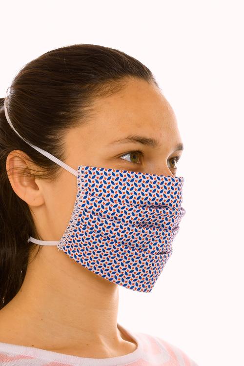 Masque tissu lavable à motifs