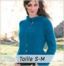 Modèle tricot Colchique taille S-M