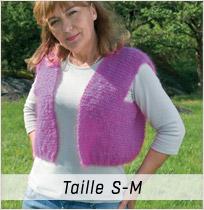 Modèle tricot Primevère taille S-M