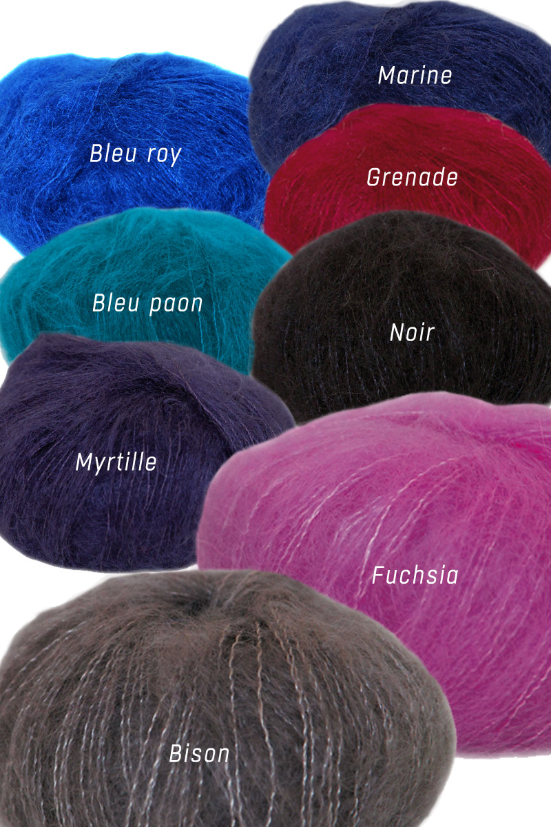 pelote de laine plume tons fonc s miss gle fabricant fran ais de pelotes de laine mohair ach. Black Bedroom Furniture Sets. Home Design Ideas