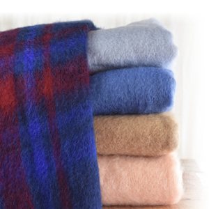 Grand Plaid mohair Bonnes Affaires - Missègle : vente de plaid mohair Made in France