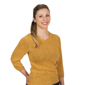 Petit pull coton Bonnes affaires - Missègle : tricotage de pull en coton Made in France