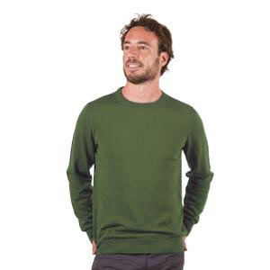 Pull en laine homme col rond Bonnes Affaires