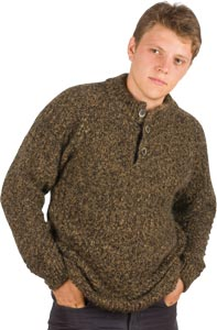 Pull laine homme point relief - Missègle: fabricant de pull en laine pour homme Made in France