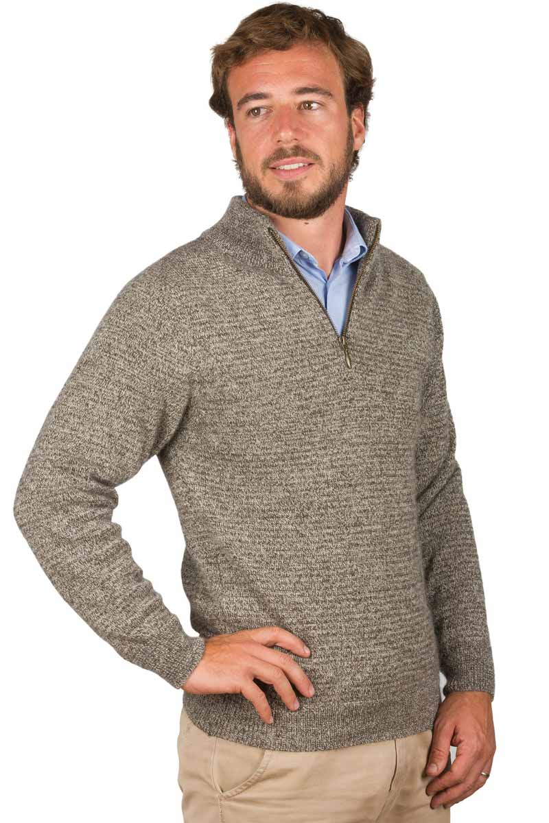 pull laine coton homme