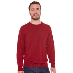 Pull en laine homme col rond