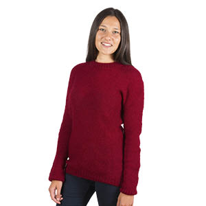 Pull en laine mohair col Rond - Missègle: vente de pull laine Made in France