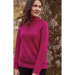 Pull laine col roulé - Missegle, pull en laine made in France