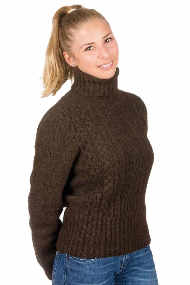 Bien connu Pull laine yack irlandais col roulé - Missègle: Fabricant de pull  FL22