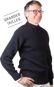 Pull marin Homme Grandes tailles - Missègle: fabricant de pull marin