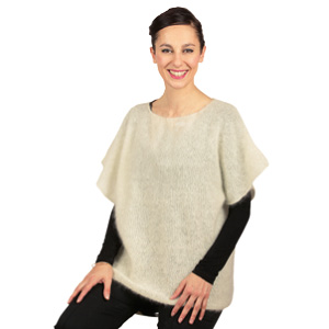 Pull mohair manches courtes - Missègle: fabricant de pull en mohair Made in France