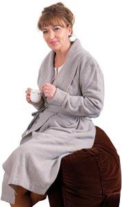 Robe de chambre laine Femme