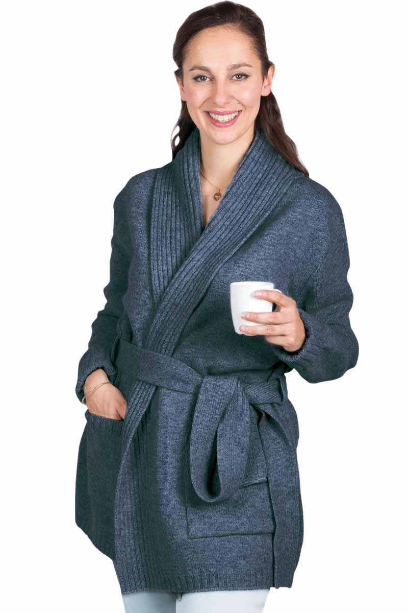 Image femme robe de chambre