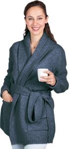 Robe de chambre laine Femme courte