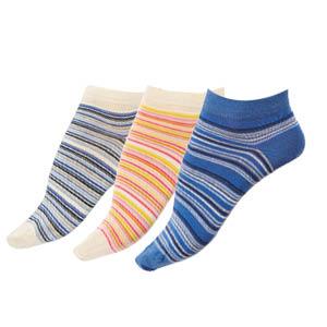 Socquettes coton peigné Multicolores Bonnes affaires