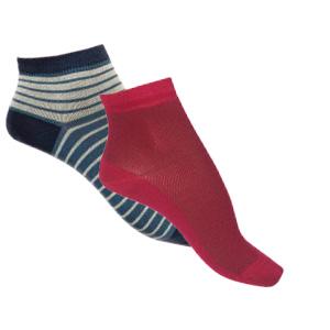 Socquettes en soie